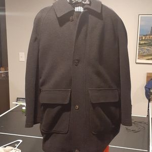 Men LONDON FOG wool coat. 1X